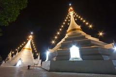 Thailändsk hantverkpagod Arkivbild