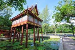 Thailändsk husstil Arkivbilder