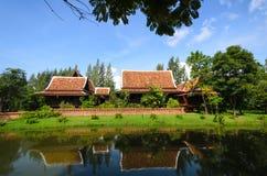 Thailändsk husstil Arkivbild
