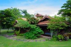 Thailändsk husstil Royaltyfria Bilder