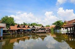 Thailändsk husstil Royaltyfria Foton