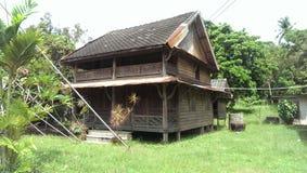 Thailändsk husstil Arkivfoto