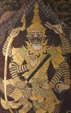 Thailändsk jätte- målning Arkivfoton