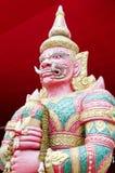 Thailändsk jätte - storslagen slott Arkivfoton