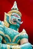 Thailändsk jätte - storslagen slott Arkivfoto
