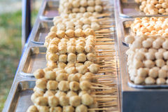 Thailändsk köttboll Royaltyfria Bilder