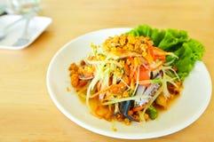 Thailändsk kokkonst royaltyfria bilder