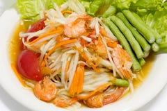 Thailändsk kokkonst Arkivbild