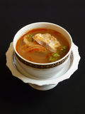 Thailändsk kokkonst, tom sötpotatisplommoner Arkivbild