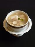 Thailändsk kokkonst, tom sötpotatisplommoner Arkivbilder