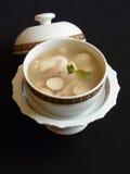 Thailändsk kokkonst, tom sötpotatisplommoner Arkivfoton
