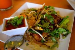 Thailändsk kokkonstskridsko Arkivbild
