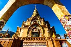 Thailändsk konst för tempel Arkivbild