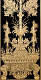 Thailändsk konstbakgrund Royaltyfria Foton