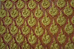 Thailändsk konstbakgrund Royaltyfri Fotografi