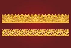 Thailändsk konstboardermodell royaltyfri illustrationer