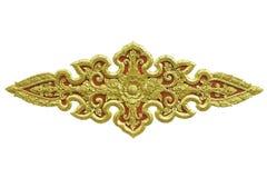 Thailändsk konstdesign Royaltyfria Bilder