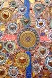 Thailändsk konstnärlig textur Fotografering för Bildbyråer