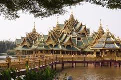 Thailändsk konstruktion Arkivbilder