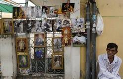 Thailändsk konung Death Arkivbild
