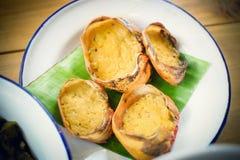 Thailändsk krabbakaka Royaltyfri Foto