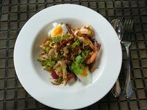 Thailändsk kryddig mat yum Royaltyfria Bilder