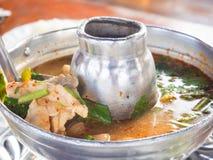 Thailändsk kryddig Tomyum soppa Royaltyfri Bild