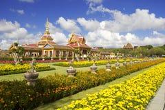 Thailändsk kunglig krematorium i Bangkok, Thailand fotografering för bildbyråer