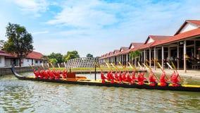 Thailändsk kunglig pråm Fotografering för Bildbyråer