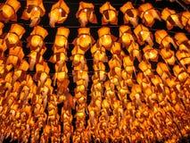 Thailändsk lampa Royaltyfria Foton
