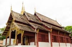 Thailändsk Lanna tempelstil Arkivbild