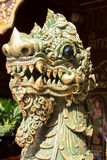 Thailändsk lejonsten Arkivbild