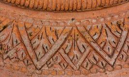 Thailändsk lergodskrukmakeri för Closeup Fotografering för Bildbyråer