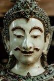 Thailändsk manlig vinkelframsida Arkivbilder