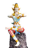 Thailändsk manskulptur Arkivbild