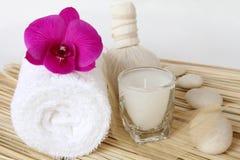 Thailändsk massage. Royaltyfria Foton