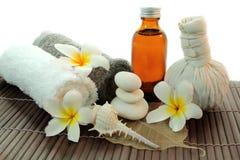 Thailändsk massage. Arkivfoto
