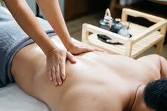 Thailändsk massageserie Royaltyfri Foto