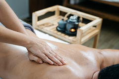 Thailändsk massageserie Royaltyfria Foton