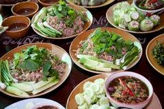 Thailändsk mat Royaltyfria Bilder