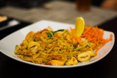 Thailändsk mat Arkivbild