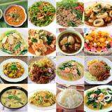 Thailändsk mat Arkivfoton