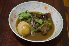 Thailändsk mat, Khaipalo Arkivfoto
