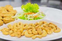 Thailändsk mat, norr Hors D `-oeuvres Arkivfoto