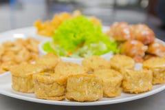Thailändsk mat, norr Hors D `-oeuvres Arkivbild