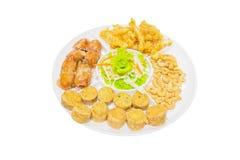 Thailändsk mat, norr Hors D `-oeuvres Arkivfoton