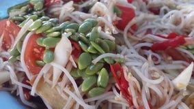 Thailändsk mat Somtum Royaltyfri Fotografi