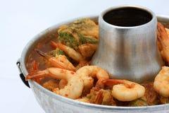 Thailändsk mat - tomyam Fotografering för Bildbyråer