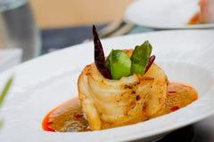 Thailändsk matdesign Arkivfoton