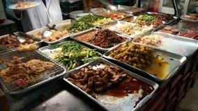Thailändsk matdomstol Arkivfoton